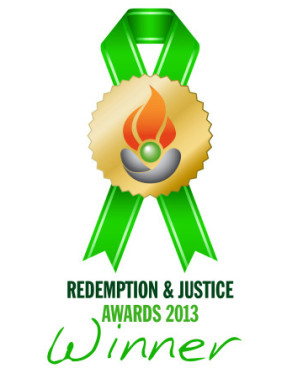 No Offence Award Logo - Redemption and Justice 2013