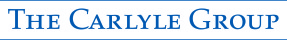 The Carlyle Group logo - blue text just stating the words 'The Carlyle Group'