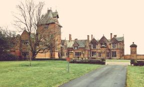 Cloverley Hall - large stately home and former school, now used as a Christian Conference centre