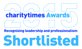 Charity Times Awards 2015 logo for Shortlisted Entrants