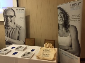 Langley exhibition stand at National Integrated Offender Management Conference 2016