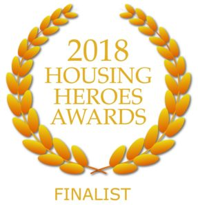 Housing Heroes Awards 2018 Finalist logo
