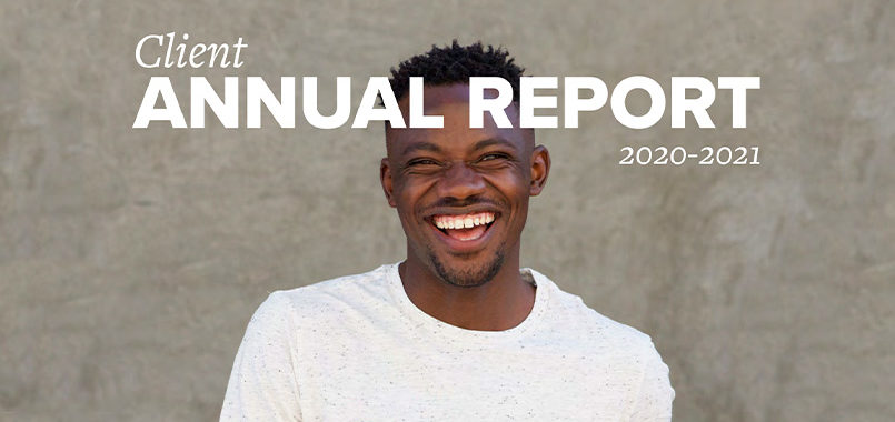 Annual Report for Clients 2020-21